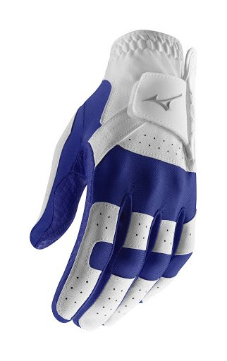 Mizuno Stretch Glove - Blue/White (One Size Fits all)